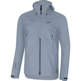GORE WEAR H5 Gore-Tex Active Capuchon Jas Heren, deep water blue/cloudy blue
